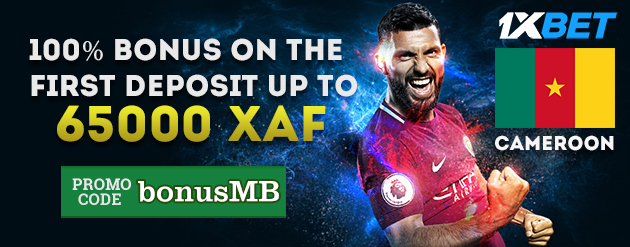 1x Bet New Customer Bonus Up To 65000 XAF for Bettors in Cameroon