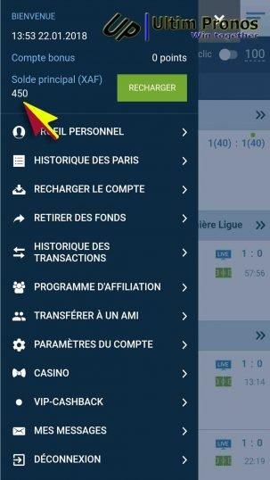 1xbet Paris Sports